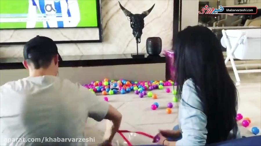 سرگرمی جالب رونالدو و همسرش