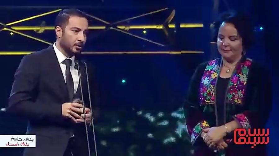 نوید محمدزاده برنده جایزه بهترین بازیگر مرد آسیاپاسیفیك