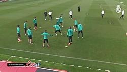 آخرین تمرین رئال مادرید پیش از دیدار با بتیس