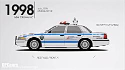 ماشین های پلیس فورد آمریکا از ابتدا تا امروز
