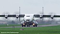 بزرگترین و غول پیکر ترین هواپیمای جهان ANTONOV AN-22