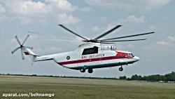 بزرگترین و غول پیکر ترین هلیکوپتر جهان Mil Mi-26T Halo