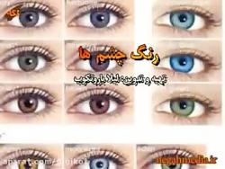 شخصیت شناسی افراد از روی رنگ چشم ها