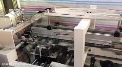 ماشین جعبه چسبانی چهار تا دو طرف چسب