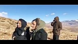 حضور خانواده های سرنشینان هواپیما در ارتفاعات دنا