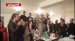 محمد رضا گلزار در جشن تولدش