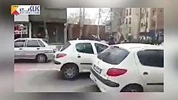 تهدید نیروی انتظامی توسط دراویش ساعتی قبل از درگیری در پاسداران