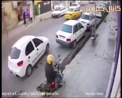 قتل بخاطر پارک ماشین از دریچه دوربین مداربسته