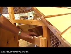 مرغدانی کوچک برای حیات و باغ 31