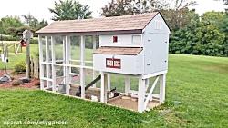 مرغدانی کوچک برای حیات و باغ 45