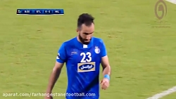 خلاصه بازی استقلال 1-0 ا...