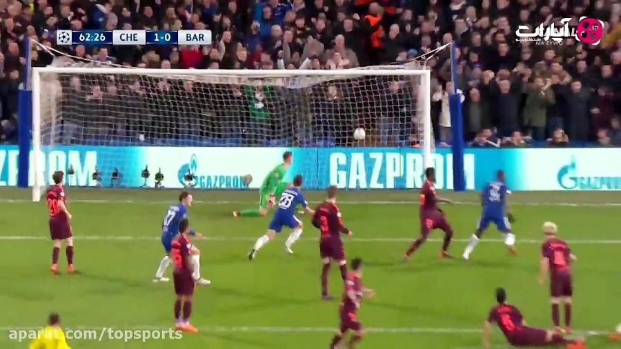 خلاصه بازی چلسی 1-1 بارسلونا (HD)