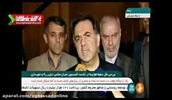 اظهارات وزیر راه و شهرسازی درباره علت سقوط هواپیما