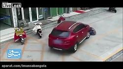 سنگدلی یک راننده بعد از...