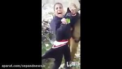 حمله وحشیانه نظامی صهی...