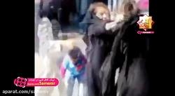 دعوای دو زن داعشی