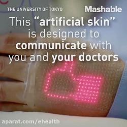 پوست الکترونیکی برای ا...
