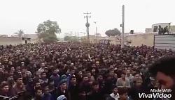 تشییع جنازه خوزستان را...