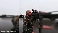 ورود تانک های T90 ارتش سوریه به غوطه شرقی دمشق