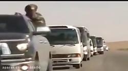 کاروان عشایر برای کمک به عملیات ارتش سوریه در غوطه شرقی