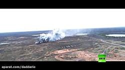 رزمایش موشکی و توپخانه ای ارتش روسیه بیخ گوش ناتو