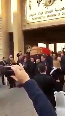تشعیع جنازه رقاص