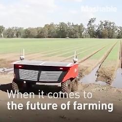 ربات هایی از آینده که کشاورزی رو دگرگون خواهند ساخت