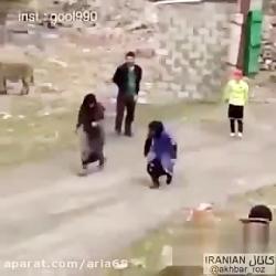 مسابقه دوندگی پیرزن ها خخخخ-آریا