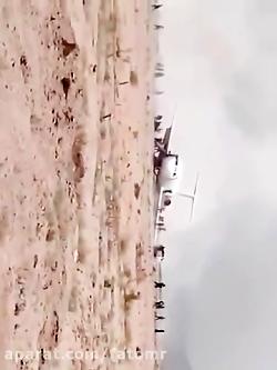 لحظه سقوط هواپیمای مسا...
