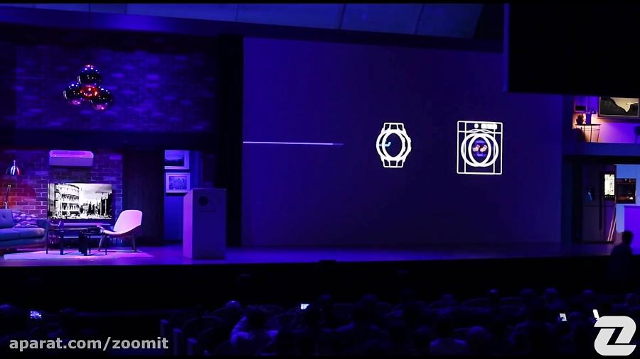 نگاه نزدیک به لوازم خانگی سامسونگ در Samsung Forum 2018