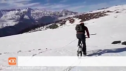 دوچرخه سواری در ارتفاعات مازیچال(www.balottourism.com)