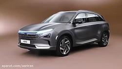 هیوندا خودروی جدید خود به نام NEXO را معرفی کرد