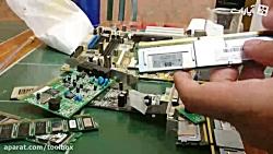 استخراج طلا از قطعات کامپیوتر