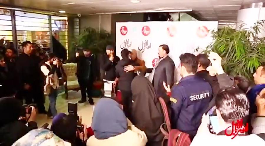 ویدئویی از اتفاقات شب پرُستاره اکران «اسرافیل»