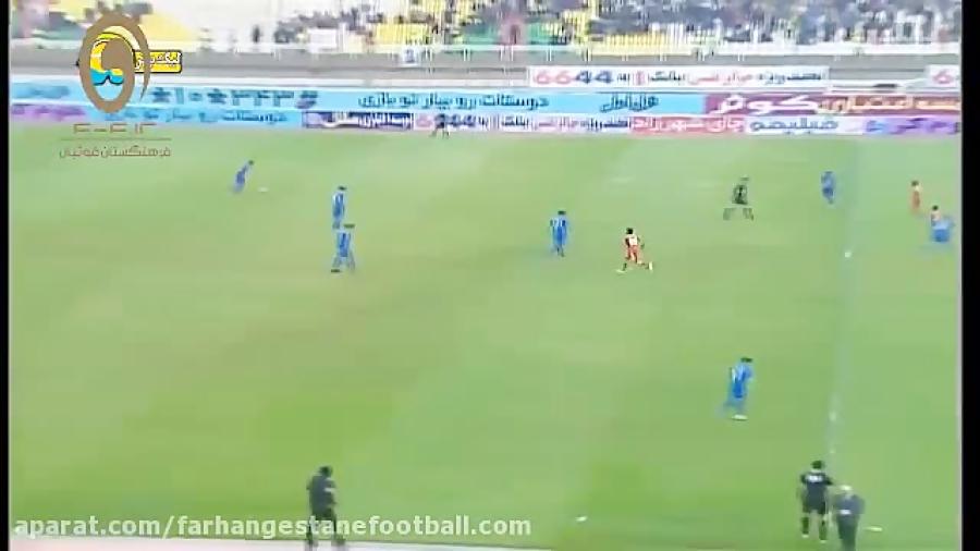 خلاصه بازی فولاد خوزستان 1-4 استقلال