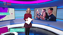 Hayley Hassall - Newsround 14Feb2018 [HD]