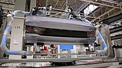 خط تولید پژو 508 جدید را ببینید