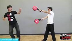 نمونه ای از هنر تمرینات رزمی جیت کان دو بروسلی