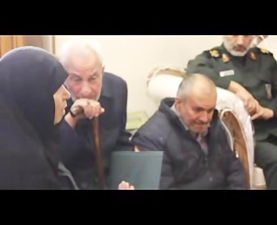 مادر شهید محمد حسین حدادیان
