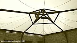 سازه چادری سقف رستوران-...