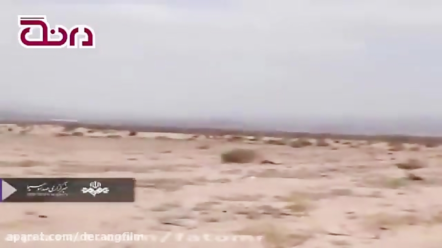 فیلم | شایعه سقوط هواپیما در بیابان های مشهد