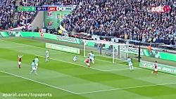 خلاصه بازی آرسنال 0-3 منچسترسیتی (HD)