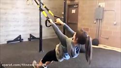 تمرین بدنسازی بانوان - تمرین بالا تنه
