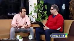 مصاحبه علی کریمی در مدا...