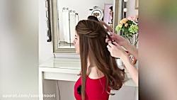 10 آموزش آرایش موهای شگفت انگیز برای بانوان