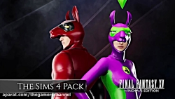 Final Fantasy XV - Sims 4 Pack کامپی...