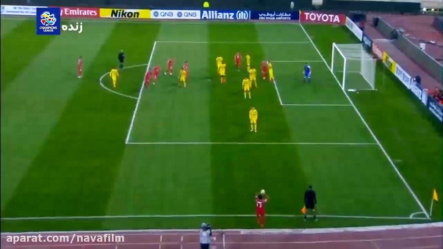 خلاصه بازی پرسپولیس 2 - 0 الوصل امارات
