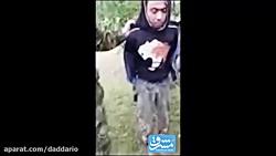اعدام سرباز سوری توسط پ...
