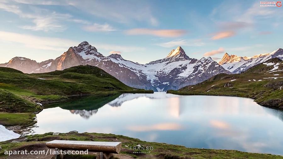 سوئیس، جایی که حتی برف هم نمی تواند زیبایی آن را بپوشان