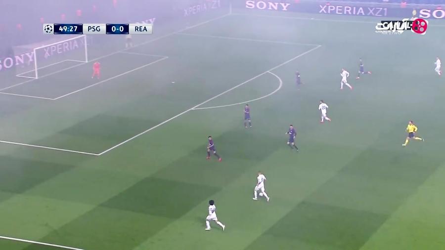 خلاصه بازی پاری سن ژرمن 1-2 رئال مادرید (HD)